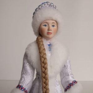 Кукла Снегурочка-новогодний подарок