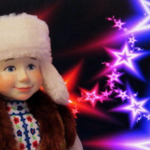 Кукла Васенька - сувенирная кукла ручной работы