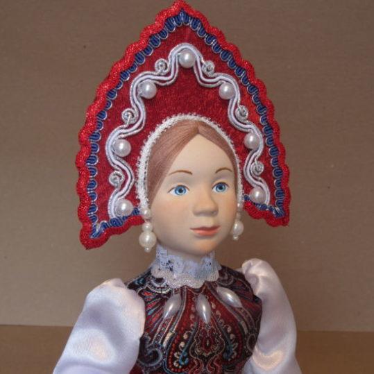 Кукла-конфетница Русская красавица