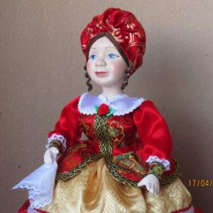Кукла на чайник Купчиха