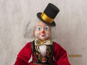 Новая кукла Клоун с барабаном