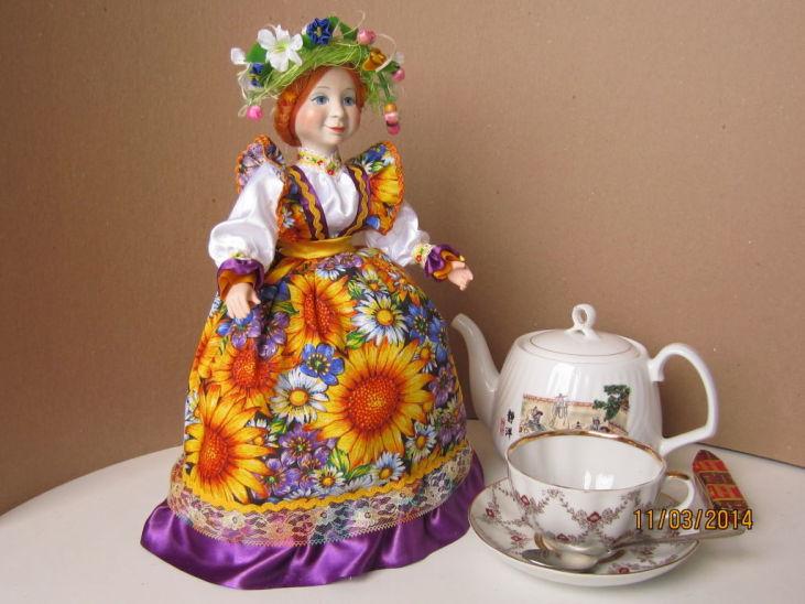 чайница Подсолнухи1