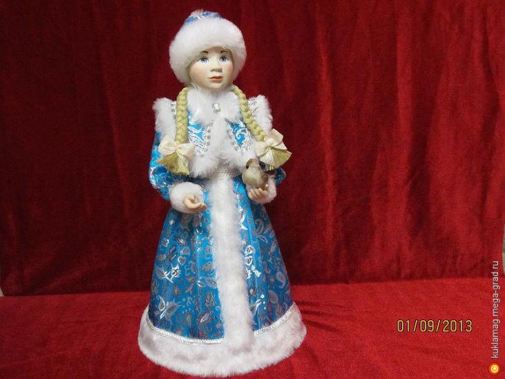 Кукла снегурочка сшить своими руками