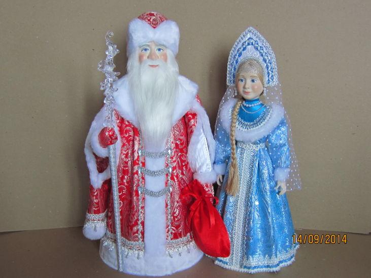 Мастер-класс снегурочка с дедом морозом своими руками