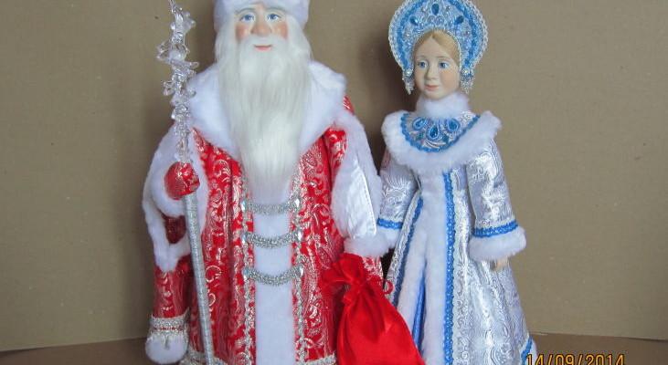 Костюм деда мороза для куклы своими руками