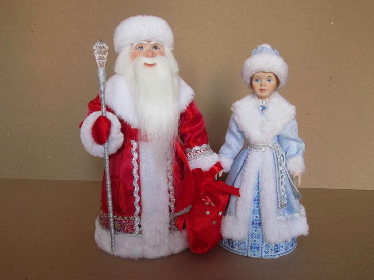 Новые куклы Морозко и внучка Снегурочка