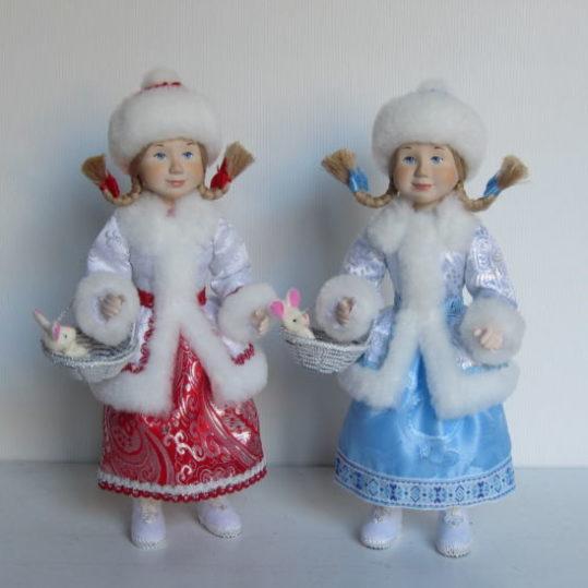 Кукла Девочка Снегурочка
