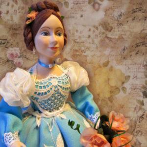 Кукла на чайник Лиза