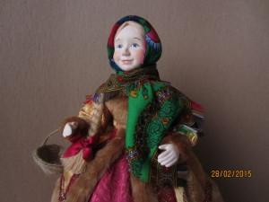 Новая кукла на чайник Дуняша