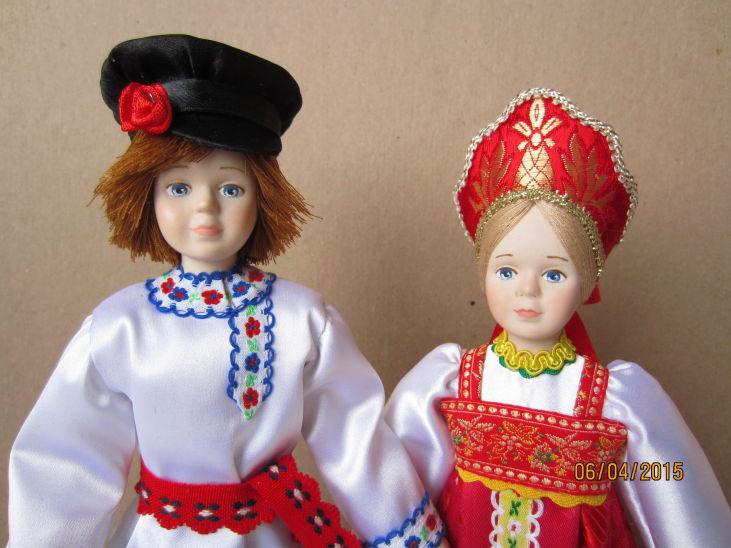 Новые куклы Егорка и Полюшка