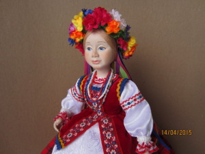 Кукла на чайник Оксана