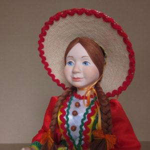 Кукла на чайник Аришка