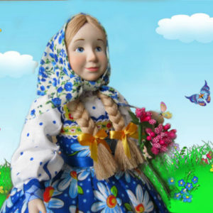 кукла на чайник Маруся