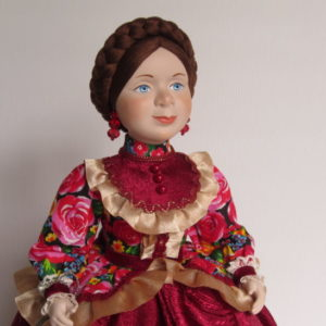 Кукла на чайник Степанида