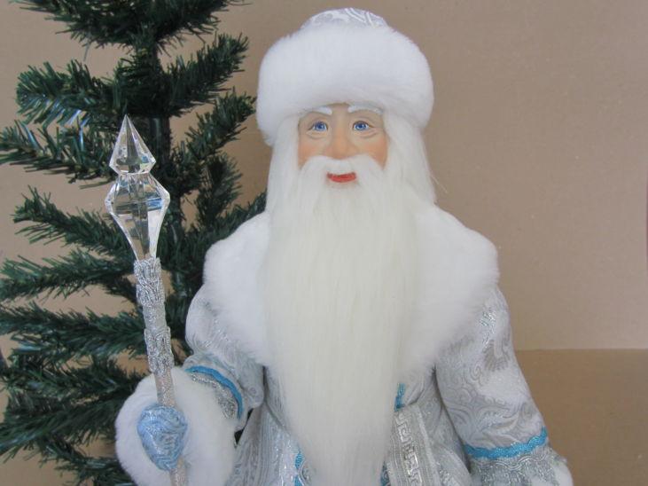 Дед Мороз Серебряный