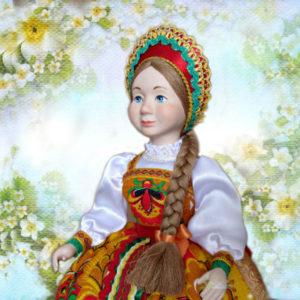 Кукла на чайник Любава