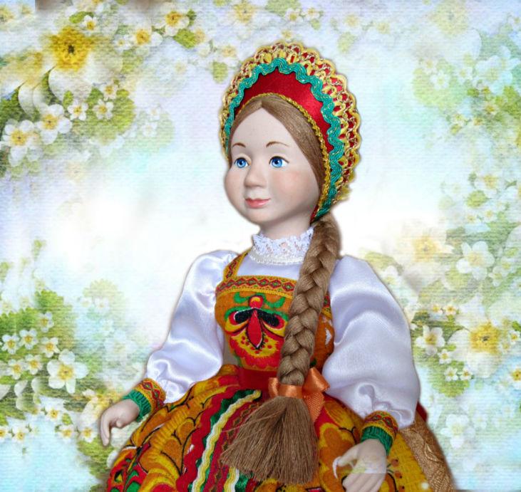 Новая кукла на чайник Любава