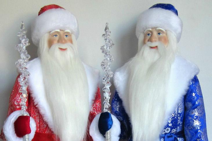 Дед Мороз 60см Праздничный
