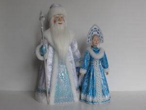 Дед Мороз-Красный нос и Снегурочка